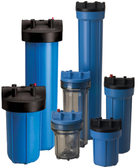 Filter Housings for Water Filtration Cartridges