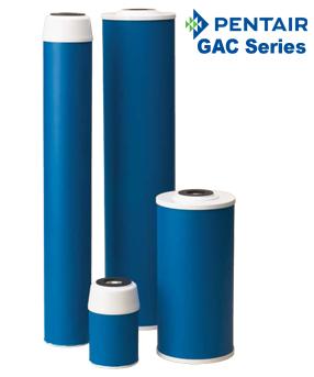 Pentek GAC Series | Granular Activated Carbon Water Filters