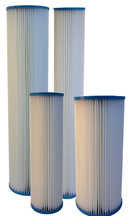 Pleated Cellulose Poly Sediment Filters