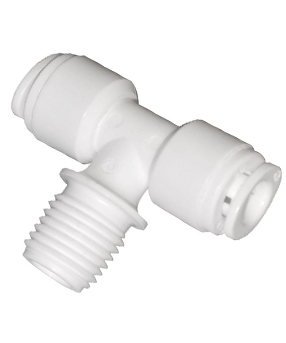 Tee Fittings for Water Treatment | Quick Connect