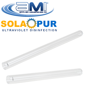 Replacement Quartz Sleeves for Solapur Ultraviolet Systems
