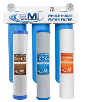 Complete Whole-House Water Filtration Systems