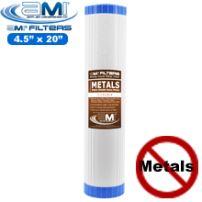 Heavy Metal Toxins Reduction Filter Cartridge | 4.5