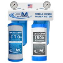 Whole House Water Filter for Iron, Manganese Sediment, Chlorine & Chemical Reduction