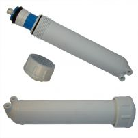 Housing for Residential Membrane |  In: Straight | Out: Elbow