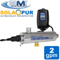 2 GPM Ultraviolet UV Water Treatment System | Solapur Helios by Applied Membranes, Inc.