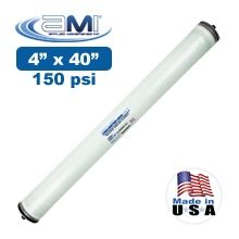 4x40 Low Energy RO Membrane with FRP Wrap 150 psi Applied Membranes