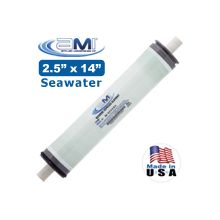 M-S2514A RO Seawater Membrane for WaterMaker or Seawater Desalination System 25x14 Applied Membranes SWRO