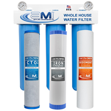 Whole House Water Filter Replacements Iron Reduction with Carbon Sediment