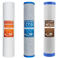 Whole House Water Filter Replacements Carbon Sediment
