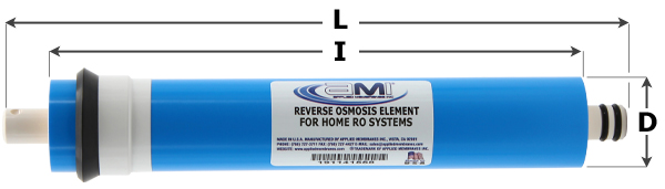 AMI Reverse Osmosis Membranes for Home RO Systems