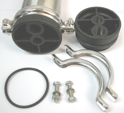 components for AMI End Clamp Stainless Steel Membrane Housings
