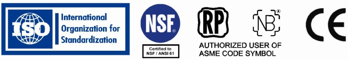 CodeLine Pressure Vessels Product Certifications