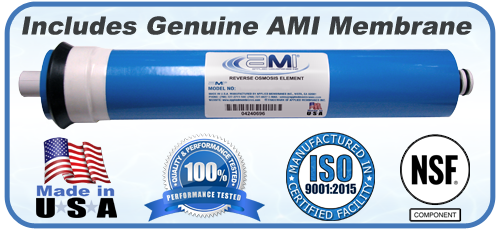 Water Filter Year Kits with AMI RO Membrane