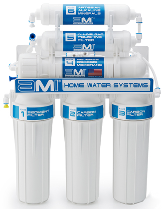 Home RO Alkaline Water Treatment System Drinking Water Filter