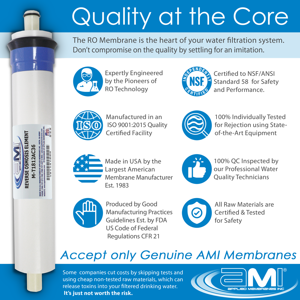 Culligan-Compatible Replacement Filter & Membrane Kit for Culligan AC-30 RO System