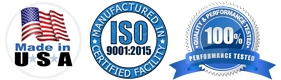 Applied Membranes Made in USA in ISO Quality Certified Facility