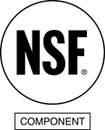 NSF Certified and Tested for Product Safety