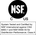 Viqua NSF Class A Certified Professional Commercial UV Systems