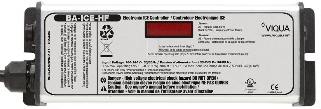 UV Controller for Viqua Sterilight SHF UV System