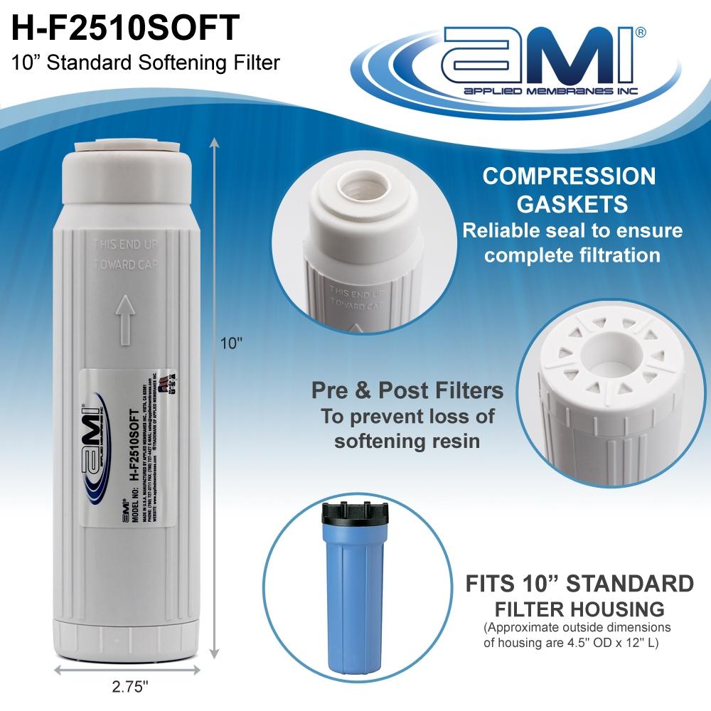 Water Softener Cartridge Filter Cartridge Water Softening Cartridge