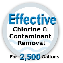 Effective Chlorine Removal Water Filter