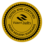 CGS Resin is WQA Gold Seal Approved