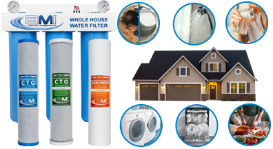 Whole-House Water Filters for Whole-House Protection